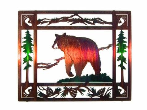 Bruin 2 By Neil Rose - Wildlife Laser Cut Metal Wall Art