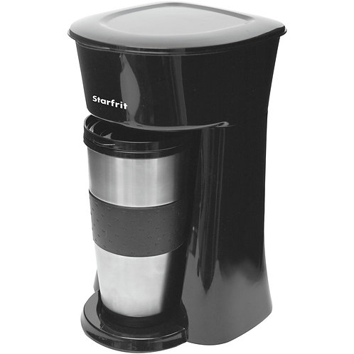 Starfrit Single-Serve Drip Coffee Maker With Bonus Travel Mug