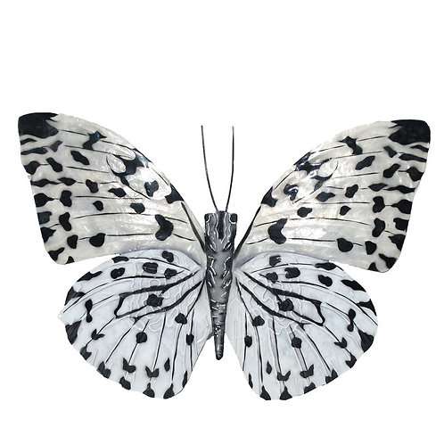 Contemporary Butterfly Metal Wall Decor