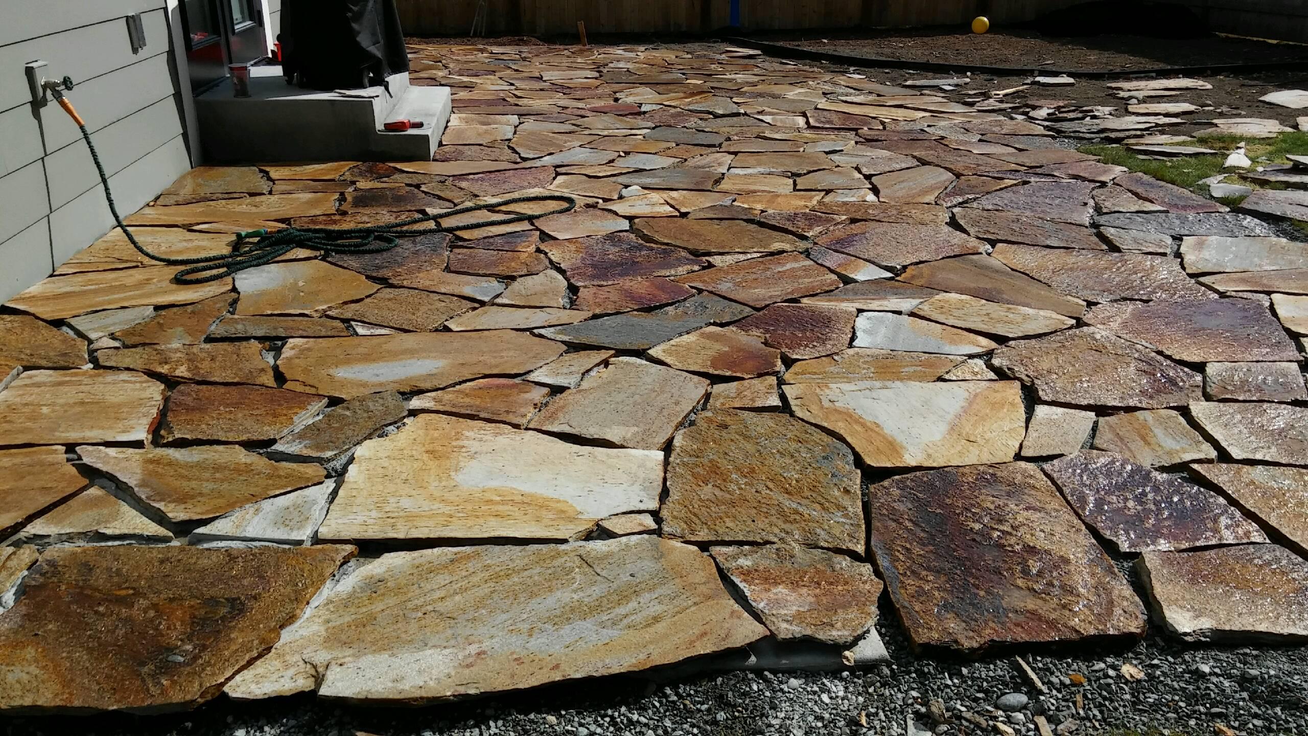 Cascade stone