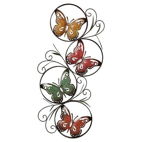 Metal Butterflies Wall Décor