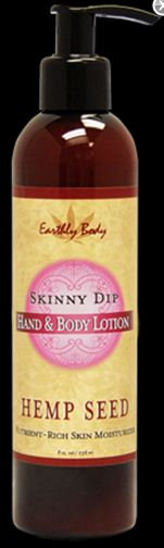 Earthly Body Hand & Body Lotion with Hemp