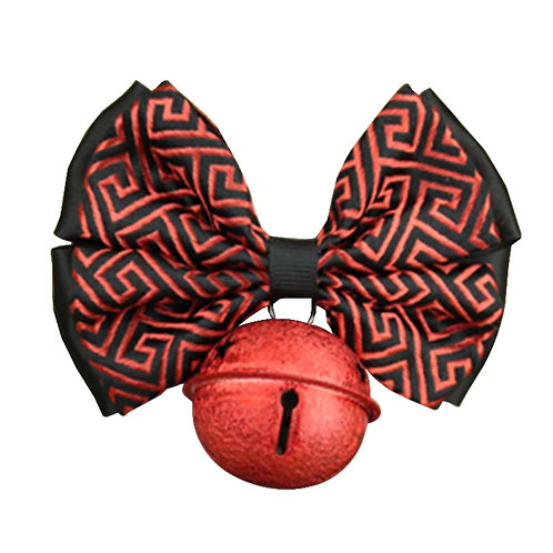 Chinese Style Auspicious Pet Bow Tie Dog Accessories Cat Bow Necklace [B-1]