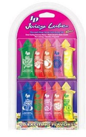 ID Juicy Lube 10 Pk Sampler