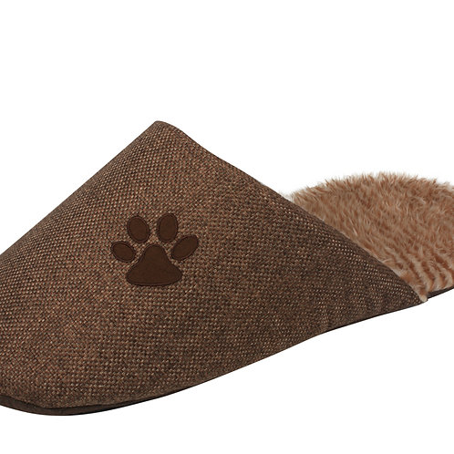 Slip-On Fashionable Slipper Dog Bed