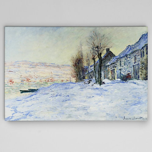 'Sun and Snow' by Claude Monet Print