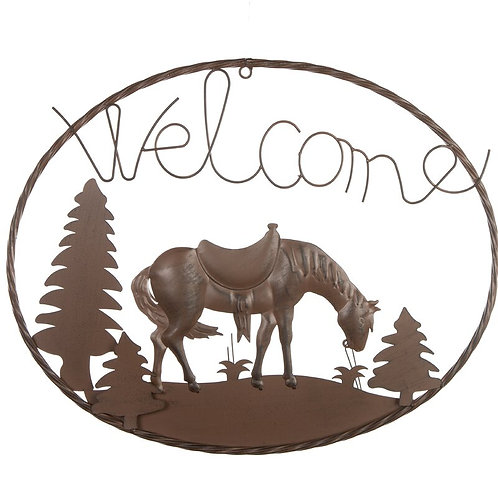 A Country Welcome Sign Wall Décor