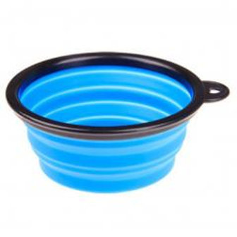 Portable Silicone Pets Bowls Dogs Cats Bowls Pet Supplies Dog Accessories