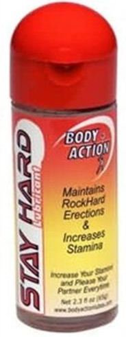 Body Action Stay Hard Lubricant