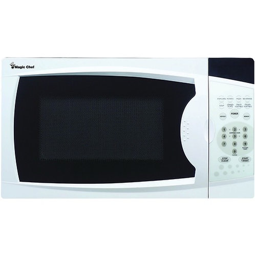 Magic Chef .7 Cubic-Ft, 700-Watt Microwave With Digital Touch (White)