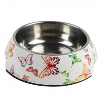 Butterfly Cute Dog Bowls Dog Dishes Pet Bowl