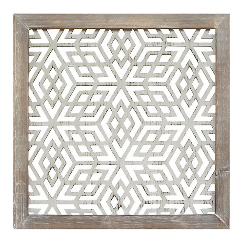 Framed Laser-Cut Wall Décor