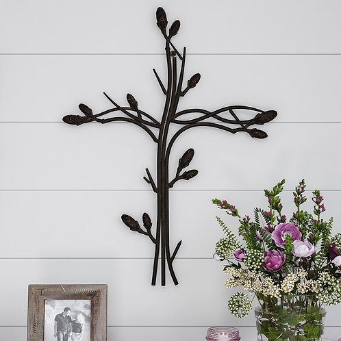 Intertwined Vine Metal Wall Décor