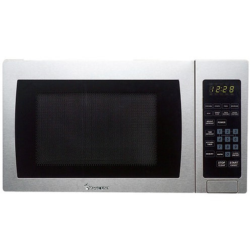 Magic Chef .9 Cubic-Ft, 900-Watt Microwave With Digital Touch (Stainless Steel)