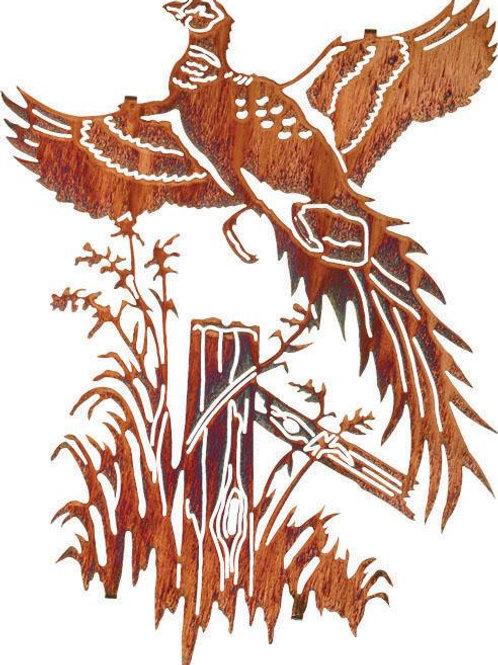 Ringneck Pheasant By Neil Rose - Nature Metal Wall Art
