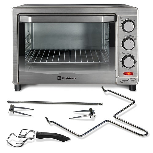 Koblenz 24-Liter Kitchen Magic Collection Oven With Rotisserie