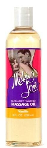 Making Love Massage Kissable Oil