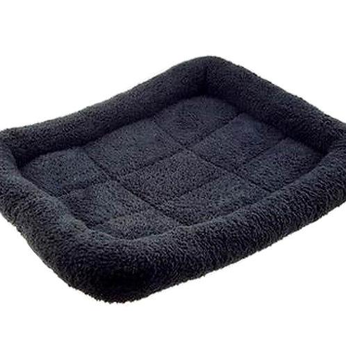 [Black] Soft Pet Beds Pet Mat Pet Crate Pads Cozy Beds For Dog/Cat