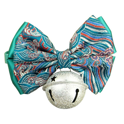 Chinese Style Auspicious Pet Bow Tie Dog Accessories Cat Bow Necklace [F-1]