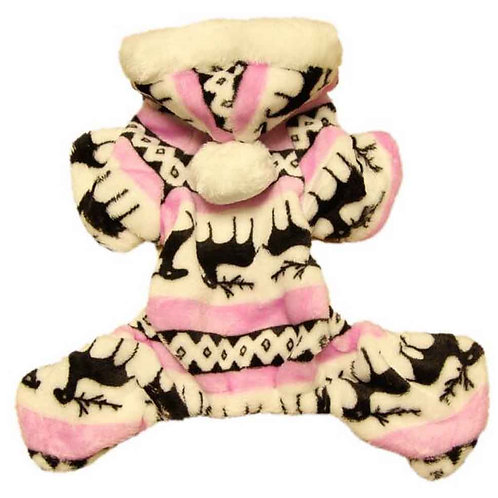 Christmas Series Pet Clothes Dog Apparel for Winter S [D]