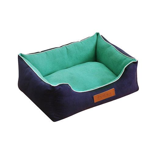 Detachable House Pet Mat Stylish Pet Bed Pet House Kennel,Pet Bolster Bed#D