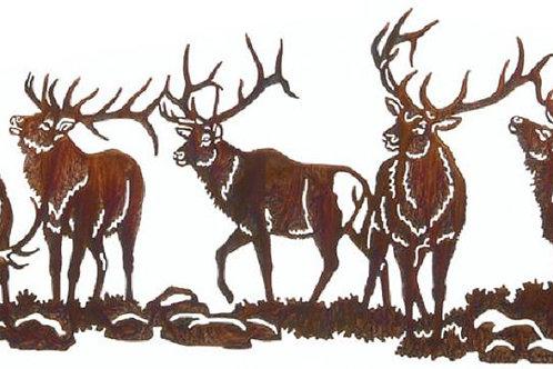 Boys Night Out By Kathryn Darling - Wildlife Laser Cut Metal Wall Art