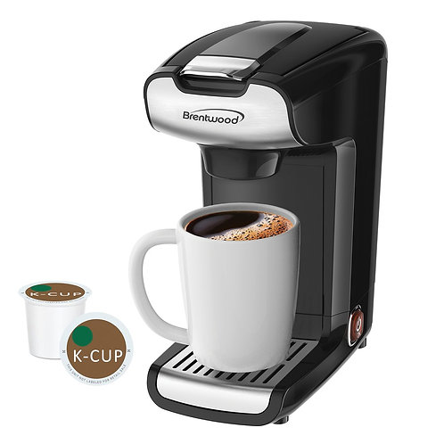 Brentwood Appliances K-Cup Single Serve Coffee Maker