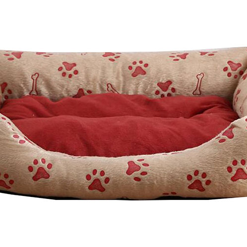 Rectangular Plush Pet Bed Perfect for Your Dog or Cat