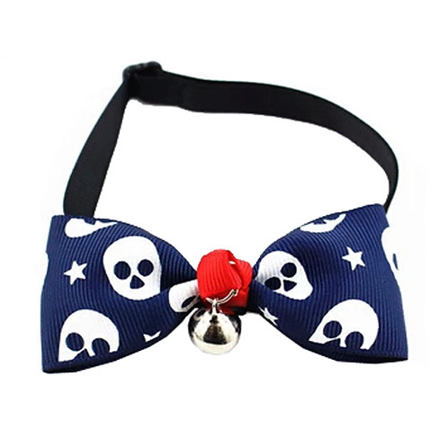 Adjustable Grooming Accessories Dog/Cat Collar Bow Ties Necklace, D