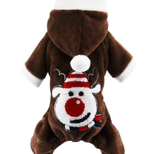 Christmas Series Pet Clothes Dog Apparel for Winter XS [G]