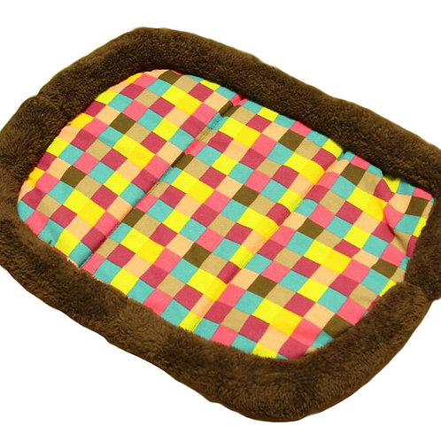 [Plaid] Soft Pet Beds Pet Mat Pet Crate Pads Cozy Beds For Dog/Cat