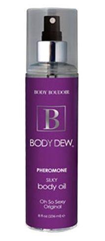 Body Dew, Silky Body Oil w/ Pheromones, Oh So Orig