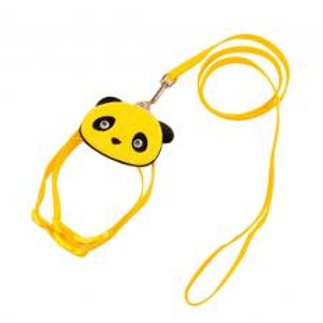 Cute Pet Leashes For Dog Puppy Pet Cartoon Bag Walking Leash YELLOW