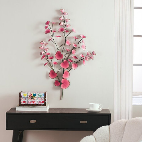 Spring of Flowers Metal Wall Décor