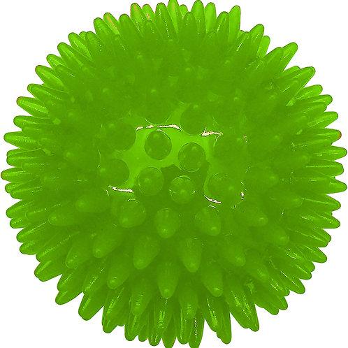 """ASPCA 3.5"""" Dental Ball Dog Toy-Green"""