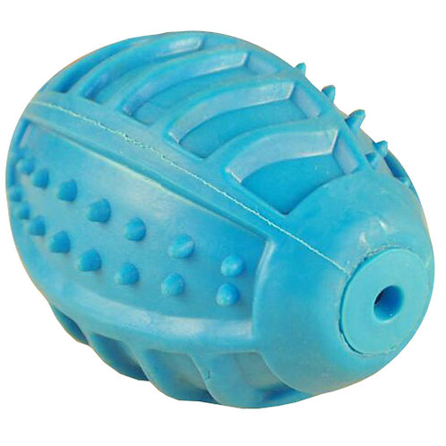 Sound Toys Rugby Ball Design Dogs Chew Toys ?C Blue