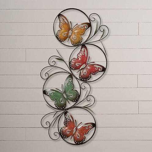 Ila Metal Butterfly Wall Décor
