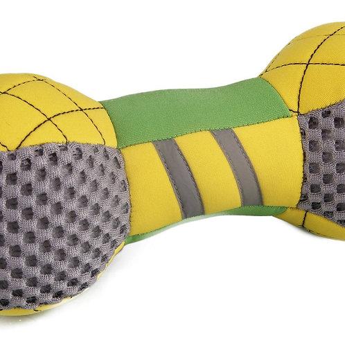 Bark-Active Neoprene Mesh Flotation Bone Fetch Dog Toy