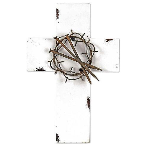 Cross Metal Wall Decor