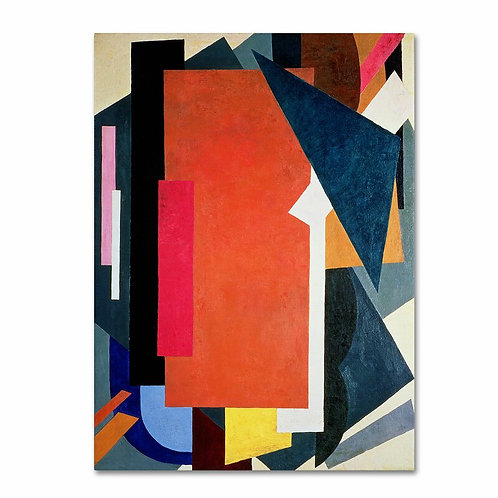 'Abstract III' Painting Print on Wrapped Canvas