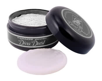 Crazy Girl Silver Body Dust with Pheromones
