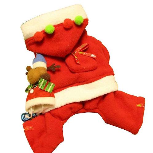 Christmas Series Pet Clothes Dog Apparel for Winter M [E]