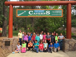 Fourth Graders visit Shasta Caverns