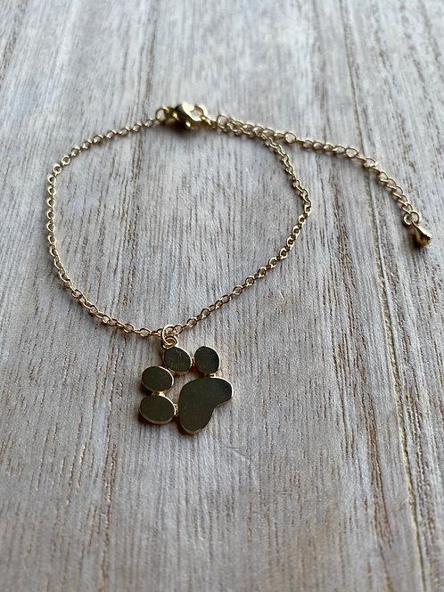 Bracelet patte de chien