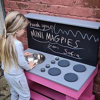 Chalkboard Mud Kitchen