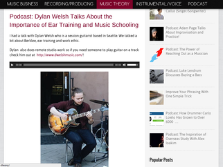 Dylan Welsh on Crafty Muso Podcast