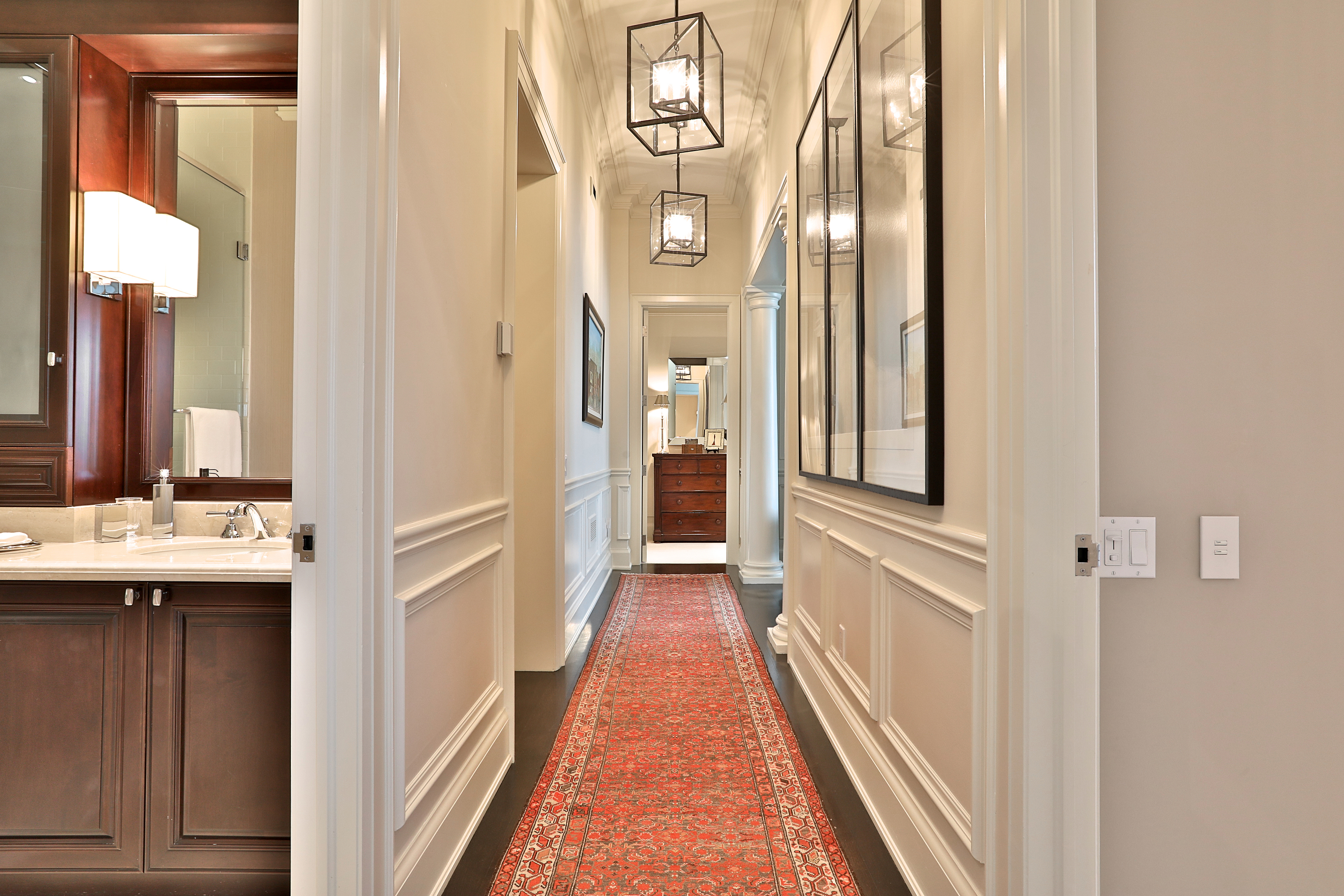 Hallway to Bedroom and Office