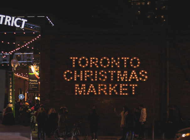 It's beginning to feel a lot like Christmas at The Toronto Christmas Market