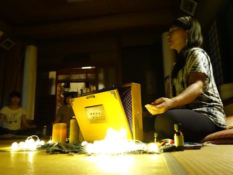 サウンドヒーリング【倍温浴:聴く瞑想】・キールタン【歌う瞑想】・アファメーション【書く瞑想】