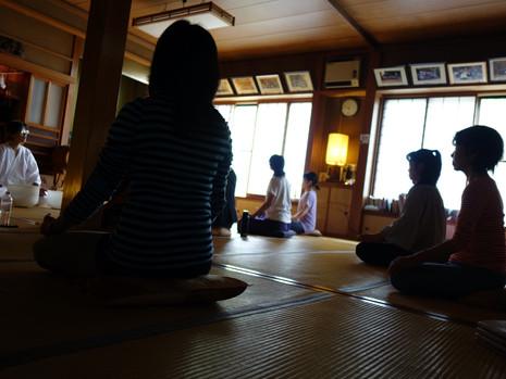 クリスタルボウル倍温浴&瞑想 BY御岳山神社の神主様